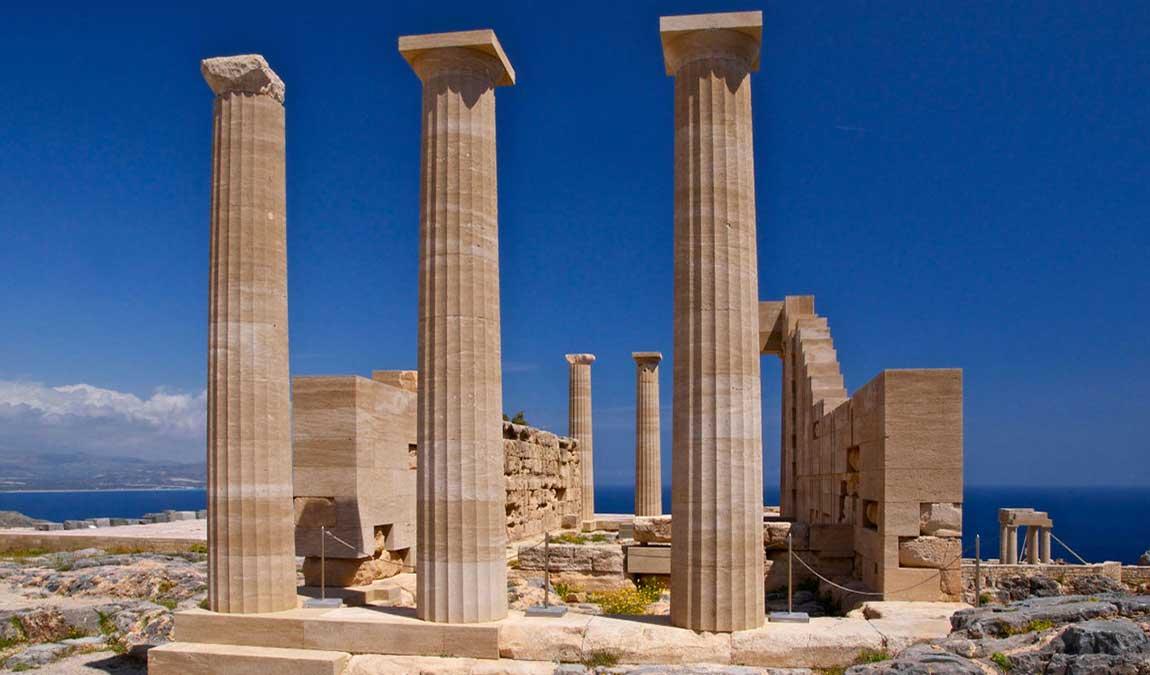 Достопримечательность Родоса – Акрополь Линдоса