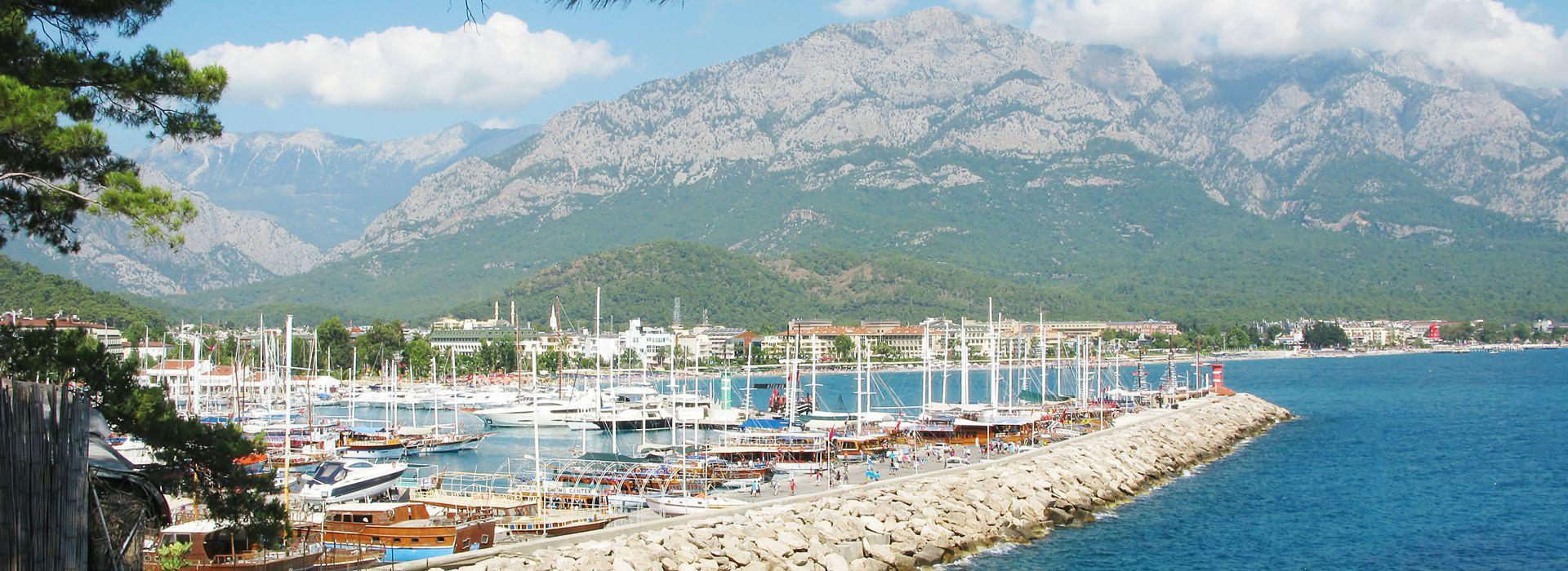 Фото пляжей Кемера, Турция » Карта путешественника